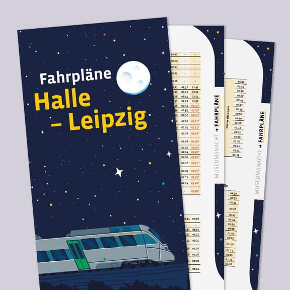 Fahrplan Halle-Leipzig