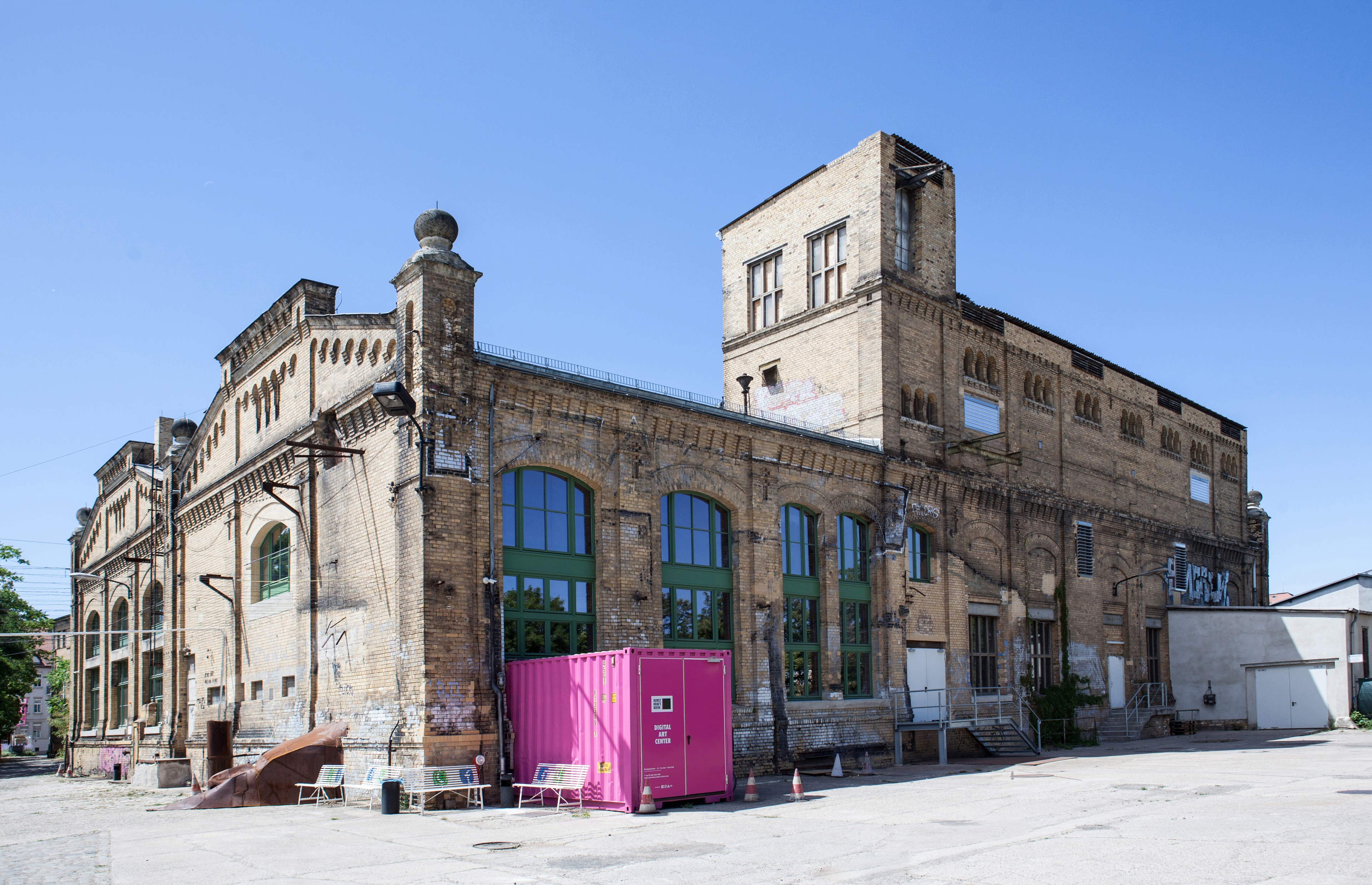 Kunstkraftwerk Leipzig – Digital Art Center